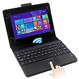 早い者勝ち! 限定30台! StarQ タブレット キーボードケース付き StarQ Pad W01J Windows 8.1搭載 8インチタブレット タッチパッド搭載キーボード Bluetooth キーボード W01J StarQ タブレット w01j