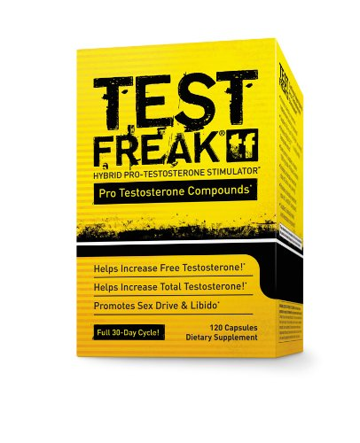 Pharma Freak Test Freak Testosterone Booster Capsules - Box of 120