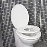 Family Seat Polypropylene Gloss White Toilet Seatby Family Seat