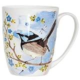 Blue Wren Coupe Mug