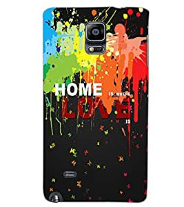 SAMSUNG GALAXY NOTE EDGE HOME Back Cover by PRINTSWAG