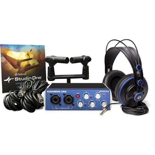 Presonus Audiobox Stereo | Usb Stereo Recording Kit Audiobox Usb Studio One Artist 2 Ps626 Microphones Hd7 Headphones