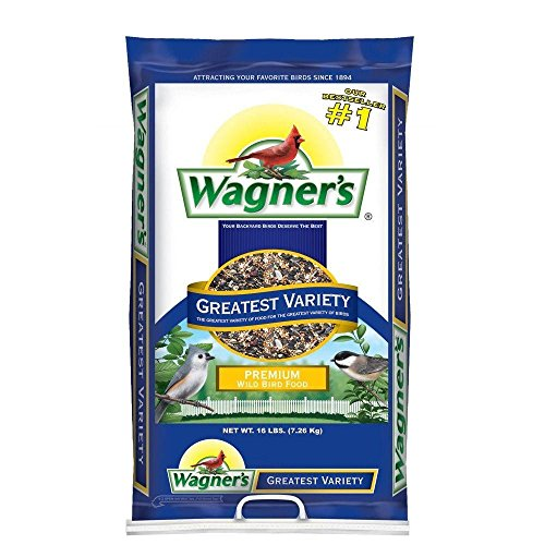 Wagner's 62059 Greatest Variety Blend, 16-Pound Bag (Morning Song Sunflower Seeds compare prices)