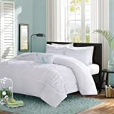 Mizone Mirimar Duvet Cover Set - White - Twin/Twin XL