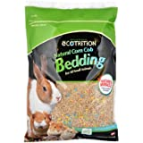eCOTRITION Natural Corn Cob Bedding for Small Animals, 23-Liter