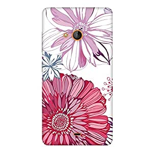 FASHEEN Premium Designer Soft Case Back Cover for Microsoft Lumia 540