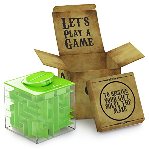Money Maze Puzzle Box Unique Way to Give Gifts for Special People - Perfect Gift Puzzle Box for Kids - Safe for Children - 100% Satisfaction Guaranteed!