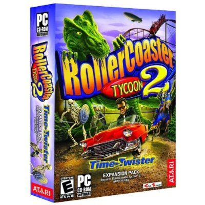 Rollercoaster Tycoon 2: Time Twister Expansion Pack front-336290