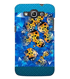 PrintDhaba Ladybug pattern D-4602 Back Case Cover for SAMSUNG GALAXY QUATTRO (Multi-Coloured)