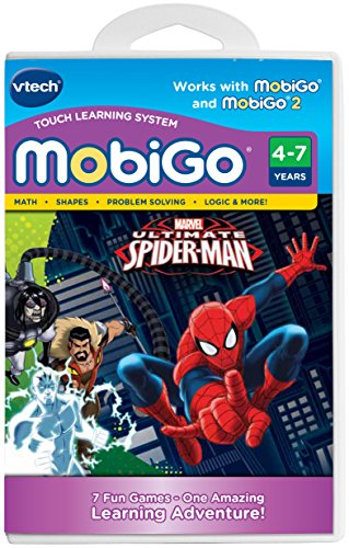 VTech Ultimate Spider-Man MobiGo Software Cartridge - 1