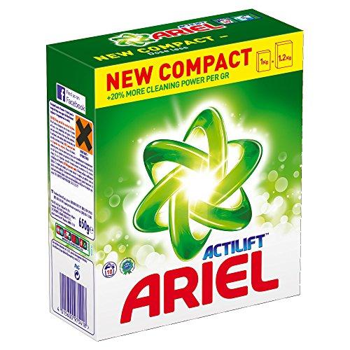 Ariel Actilift Bio Washing Powder, 10 Washes