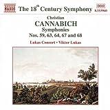 カンナビヒ:交響曲第59番,  第63番,  第64番,  第67番,  第68番