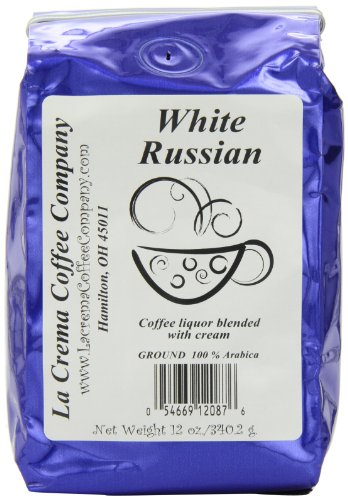 La Crema Coffee White Russian, 12-Ounce Packages (Pack Of 2)
