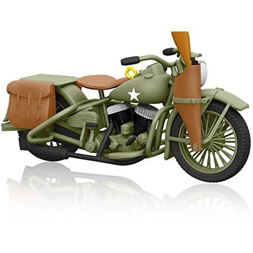 1942 Harley-Davidson WLA - 2014 Hallmark Keepsake Ornament