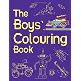 The Boys' Colouring Book (Boys Book)by Jessie Eckel
