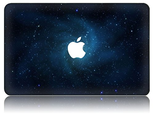 KEC MacBook Case Hard Shell Cover with Galaxy Space Universe Pattern Laptop Folio Case (MacBook Pro Retina 13 Inch (A1502 / A1425), Blue) (Cool Cases For Macbook Air 13 compare prices)