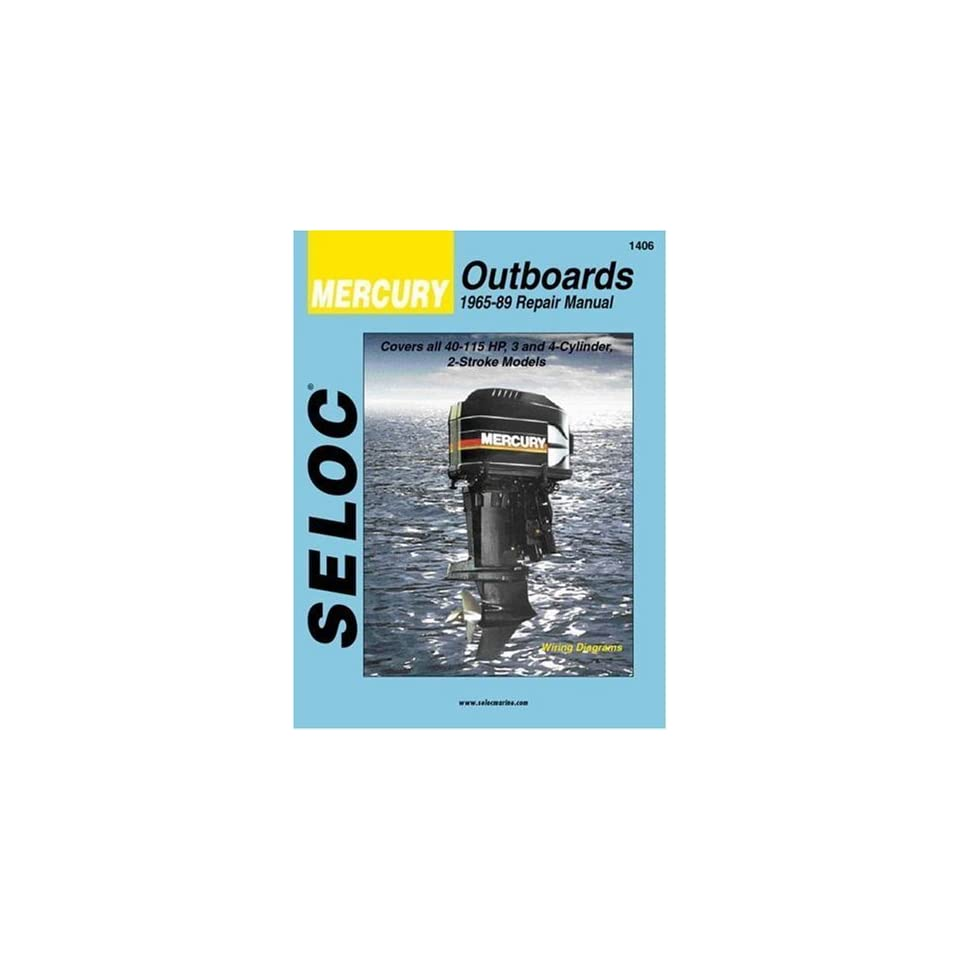 Outboards, 3 4 Cylinders, 1965 1989 (Seloc Marine Tune Up