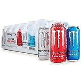 【アメリカ版・日本未発売】 モンスター エナジー ウルトラ / バラエティパック (473ml ) 24本セット 【並行輸入品】 Monster energy ULTRA  VARIETY PACK