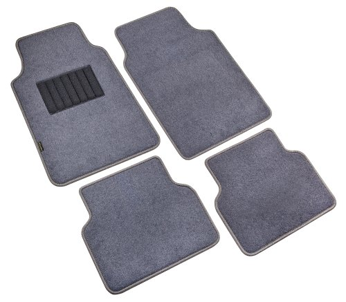 Highland 4560500 Pacific Coast Highway Luxury Carpet Floor Mat, Gray - 4 Piece (2007 Toyota Camry Floor Mats compare prices)