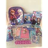 Disney Frozen Elsa & Anna Small Backpack Of Fun Gift Set Perfect For Christmas Stocking Stuffers, Easter Basket...