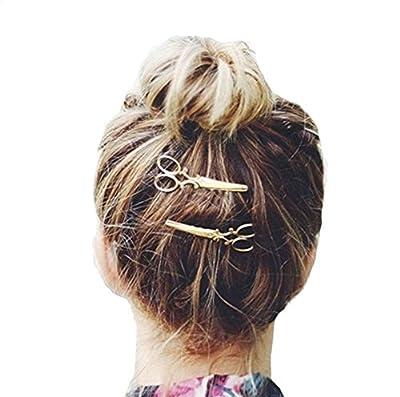 Bigban Girls Cute Fashion 1PC Scissors shape Hair Clip Hair Accessories Headpiece