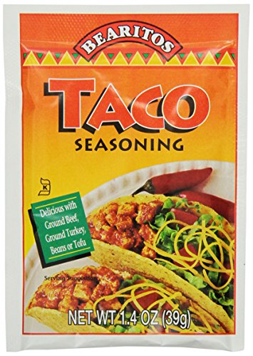 Bearitos Taco Seasoning, 1.4 Ounce (Pack of 12) (Mexican Cheese Blend compare prices)