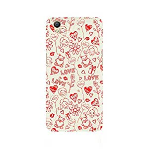Ebby Love, Kiss and Gifts Premium Printed Case For Oppo A37