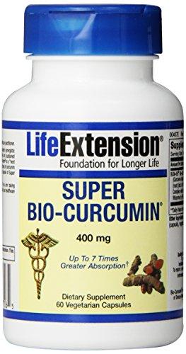 Life Extension Super Bio-Curcumin, 400Mg, Vegetarian Capsules, 60-Count