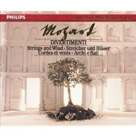 Mozart: Divertimenti for Strings & Wind (5 CDs, Vol.4 of 45)