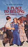 A Place to Belong (The Orphan Quartet, No.4)