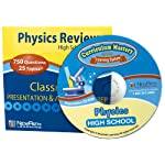 NewPath Learning Physics Review Interactive Whiteboard CD-ROM, Site License, High School