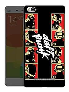 "Humor Gang Daft Punk Strip Art Printed Designer Mobile Back Cover For ""Xiaomi Redmi Mi4i"" (3D, Matte, Premium Quality Snap On Case)"