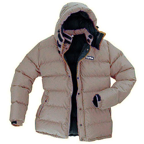TAIGA Ellesmere Extreme 700 - Men's Down Parka Jacket, Sage, MADE IN CANADA
