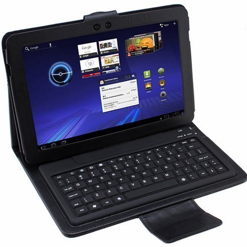 Wireless Bluetooth Keyboard Case for Samsung Galaxy Tab 10.1