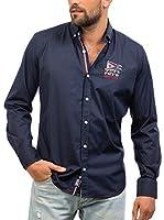 Signore Dei Mari Camisa Hombre Biaggio (Azul Marino)