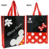 Disney One Double Sided Picture MInnie & Mickey Mouse Reusable Party Favor Bag 12.5.