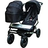 Mountain buggy Duet Flint toddler/newborn bundle