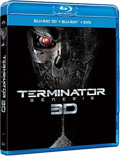 Terminator: Génesis (BD 3D + BD + DVD) [Blu-ray]