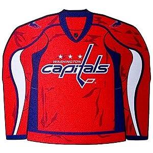 NHL Washington Capitals Jersey Shaped Mouse Pad