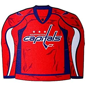 NHL Washington Capitals Jersey Shaped Mouse Pad