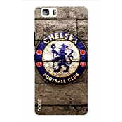 Noise Football Club Wooden Printed Cover For Huawei P8 Lite