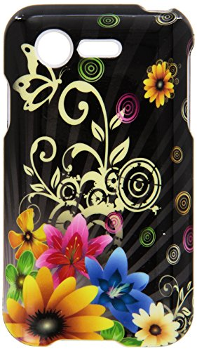 HR Wireless Design Cover for LG Optimus Zone 2 L34C Fuel - Retail Packaging - Chromatic Flower (Lg Optimus Fuel Cell Phone compare prices)