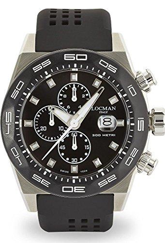 Locman reloj hombre Stealth cronógrafo 0217V1-0KBKNKS2K