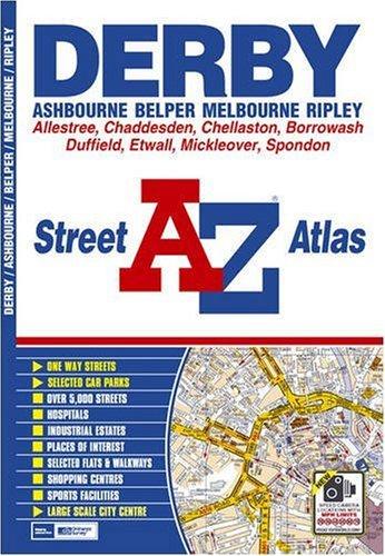 Derby Street Atlas (A-Z Street Atlas)