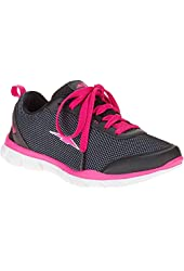 Avia Womens Diversion Casual Sport Shoes, Black/Pink, Size 7