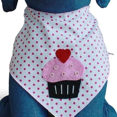 Cupcake Dog Bandana Kerchief