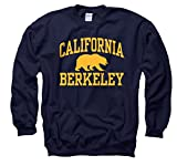 California-Berkeley Golden Bears Adult Arch and Logo Crewneck Sweatshirt - Navy