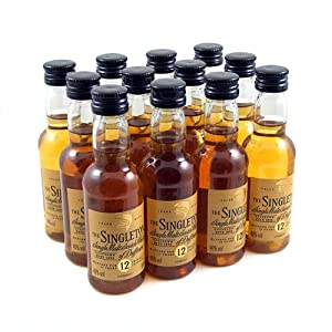 The Singleton 12yr Single Malt Scotch Whisky Miniature - 12 Pack from The Singleton