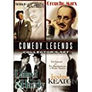 Comedy Legends Collector's Set: Buster Keaton: The Misadventures of Buster Keaton & The General; W.C. Fields: Golf Specialist, Dentist & Fatal Glass of Beer;  Laurel & Hardy: Lucky Dog, Kid Speed