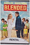 Blended (Dvd,2014) Rental Exclusive